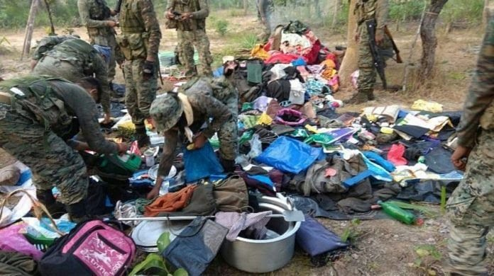 File picture of Naxalites in a Bastar jungle | Representational image | By special arrangement